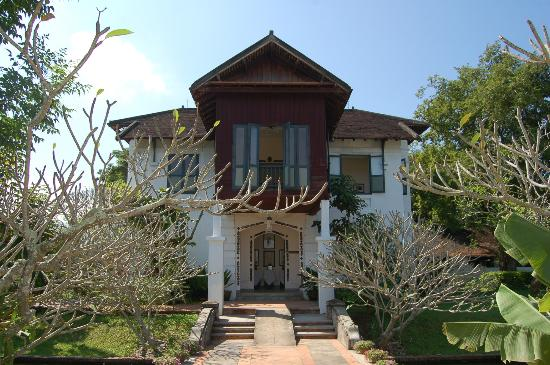 The Grand Luang Prabang Hotel & Resort: building where the museum is
