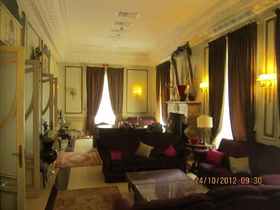 Villa del Bosco Hotel: Lounge