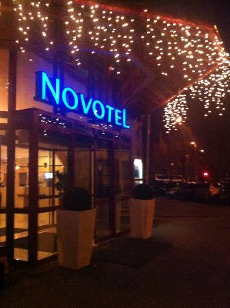Novotel Szekesfehervar: L'ingresso