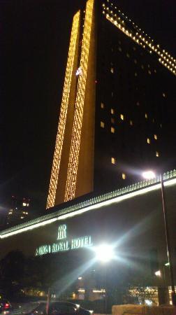 RIHGA Royal Hotel Osaka: サンタがいるライティング