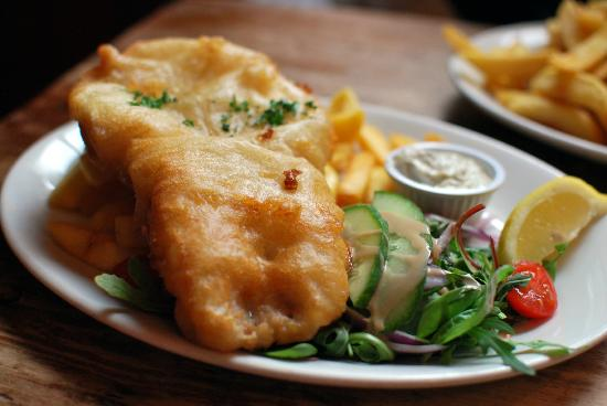 The Compass Leith: Fish 'n' chips