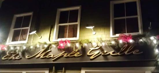 The Maple Grille: University Avenue, Charlottetown.