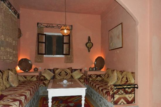 Guelmim, Marrocos: le petit salon