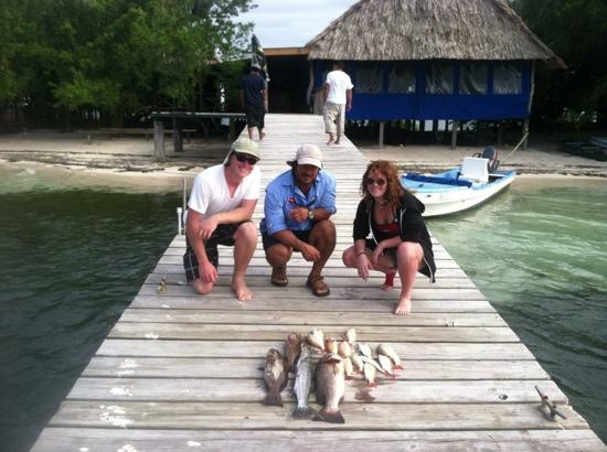 The Snack Shack: fishing trip with Roberto
