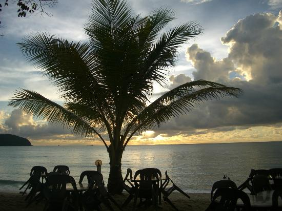 Oasis Bar and Restaurant: sunsets galore