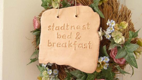 Stadtnest Bed & Breakfast and Apartment: Entrance to the Bed & Breakfast