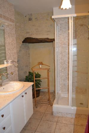 Hotel Tardif Noble Guesthouse: The bathroom in the single room.
