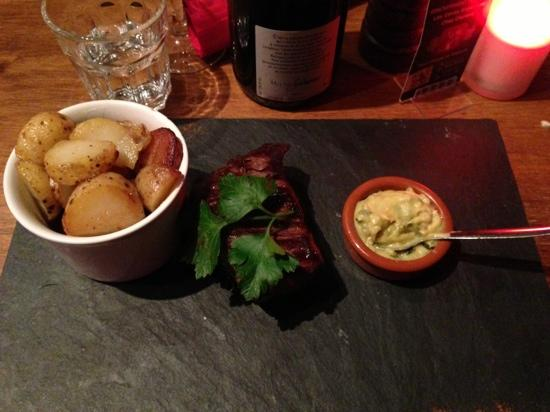 Les Caves Angevines: filet of beef