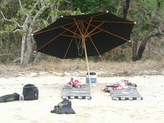 Qualia Resort: Private Beach Drop Off