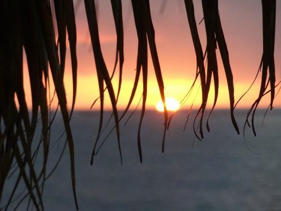 โรงแรมเดอะเบย์: sunset on beach