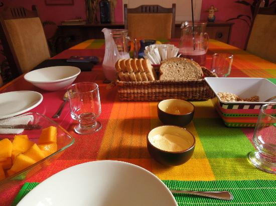 La Casa Amarilla : Our Vegetarian Breakfast