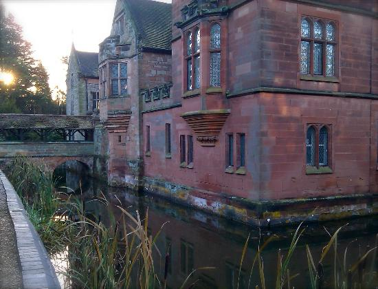 The oldest inhabited moated house in England! - Picture of