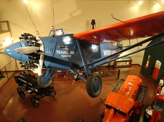 Woolaroc Ranch, Museum & Wildlife Preserve: Travel Air Transport in the Woolaroc Museum