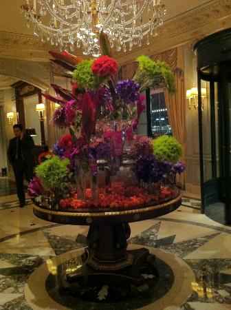 Four Seasons Hotel des Bergues Geneva: la hall