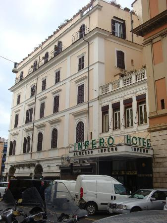 Hotel Impero: A view from Front