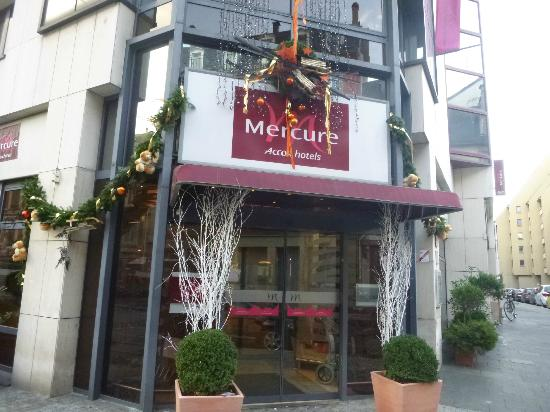 Mercure Strasbourg Centre : main entrance