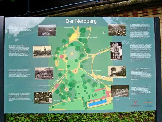Neroberg map Picture of Neroberg Wiesbaden TripAdvisor