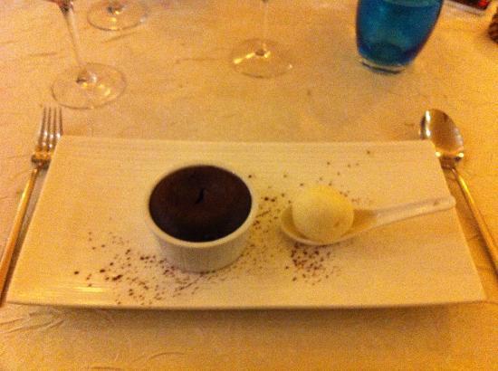 L'Escargot : souffle al cioccolato