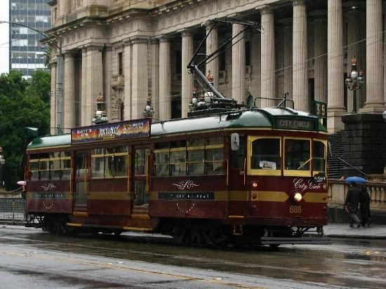 City Circle Tram: City circle train