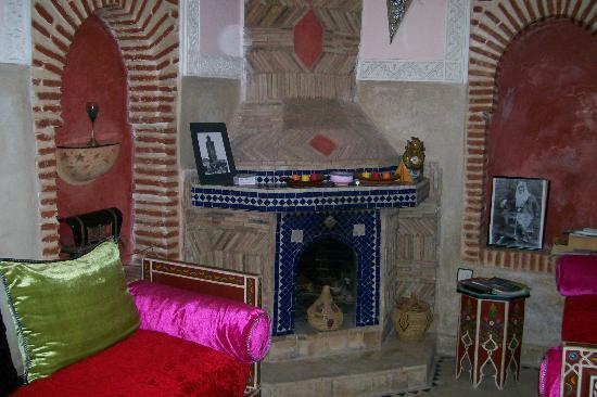 Riad Venezia : In the common area living room
