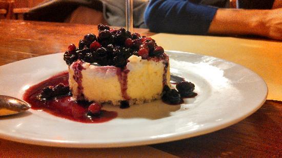 Alla Corte di Bacco: The secret dessert!