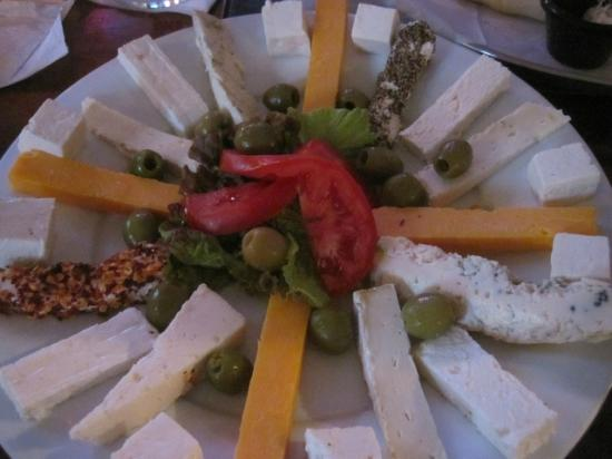 Barbaro: Cheese & Olive platter