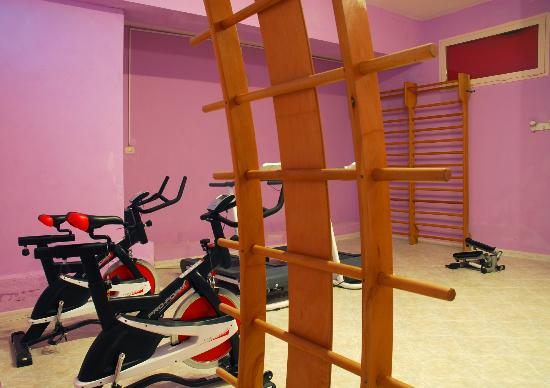 Hotel Michelangelo: Area fitness