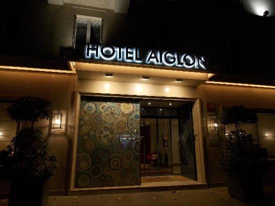 Hotel Aiglon - Esprit de France: Frente