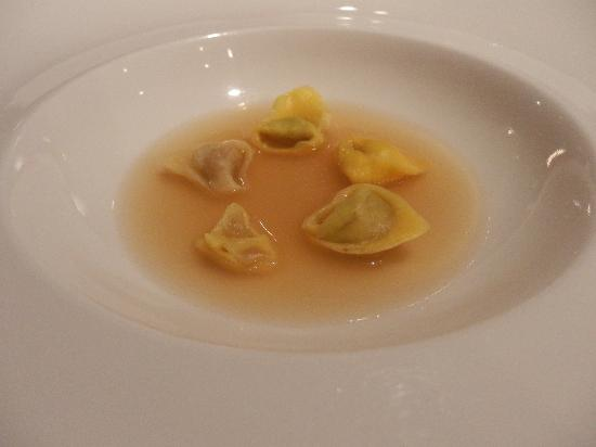 Osteria Francescana : i forget what they call it trottia i guess