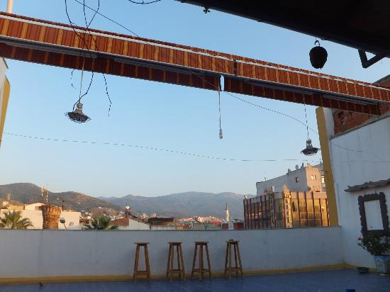 Efes Antik Hotel : テラス