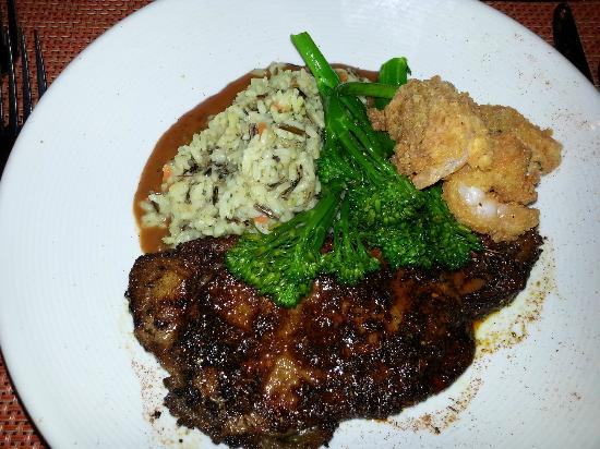 Renaissance Philadelphia Airport Hotel: Steak Dinner
