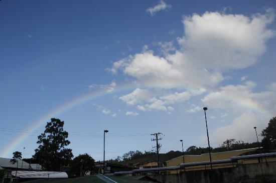 Pension Santa Elena: Regenbogen