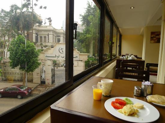 فندق كينج: at the breakfast room 