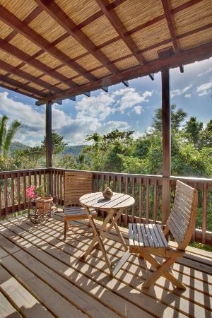 Belize Tree Houses : Outdoor Patio