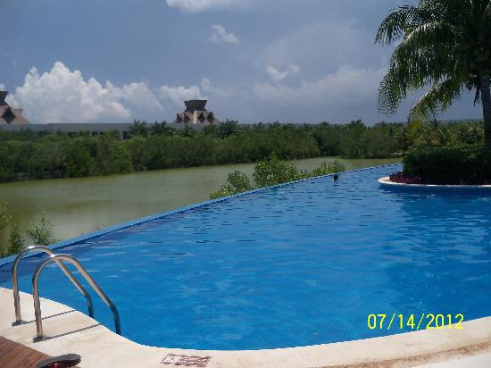 The Grand Mayan Riviera Maya: One of the pools.
