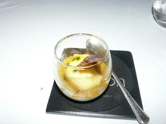 The Torridon 1887 Restaurant: Passionfruit sorbet