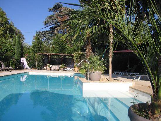 Chateau Double : espace piscine