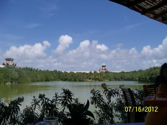 The Grand Mayan Riviera Maya: View from one of the restaurants