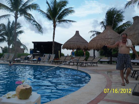 The Grand Mayan Riviera Maya: One of the pool areas