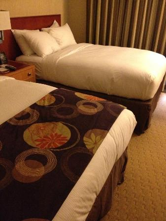 Embassy Suites by Hilton Washington-Convention Center: Where did the throw go?