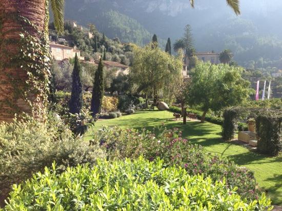 Belmond La Residencia: Fra restaurantterrassen