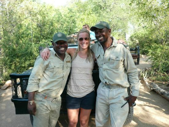 Umlani Bushcamp: Shady, Lauren and Robert
