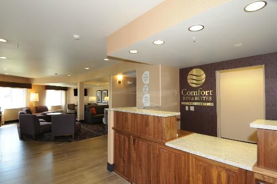 Comfort Inn & Suites Market Place Great Falls: Lobby