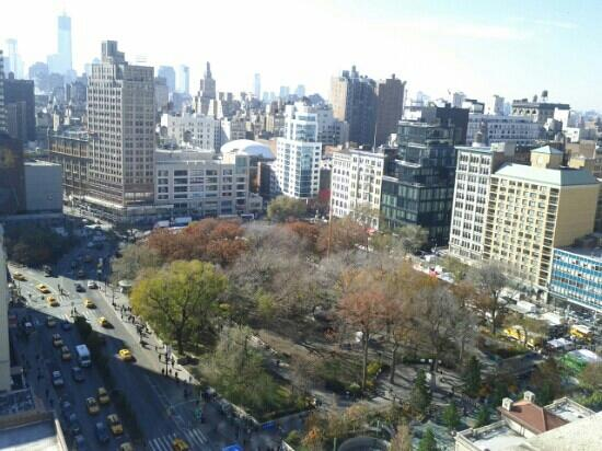 W New York - Union Square: The wow view from our room