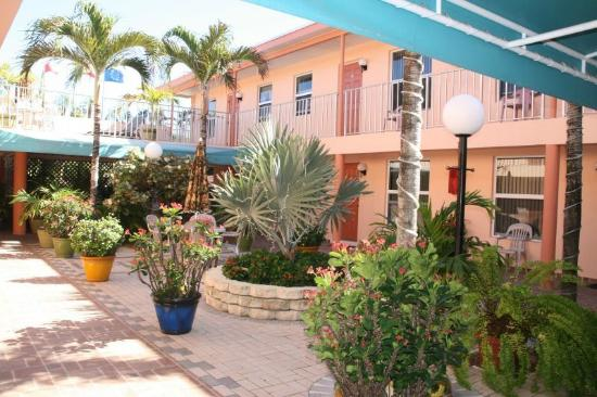 Lago Mar Motel and Apartments: Garden