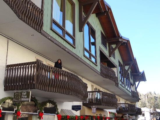 The Lodge at Vail, A RockResort: Balcony