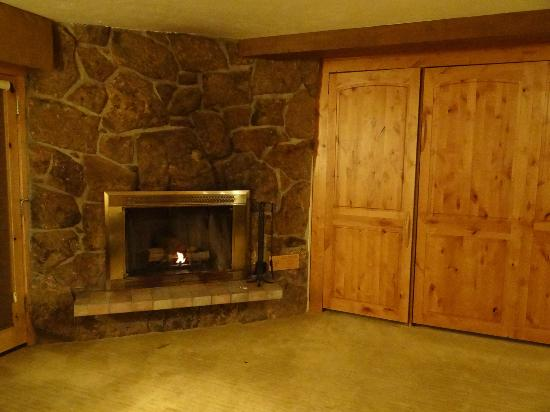 The Lodge at Vail, A RockResort: Fireplace with Murphy Bed!!