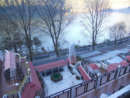 View From My Room Picture Of Alka The Lake Side Hotel Nainital