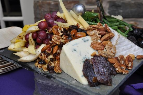catered cheese platter