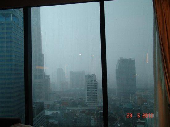 Novotel Bangkok Platinum Pratunam: вид из окна 20 этаж